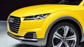 Audi TT Offroad Concept headlamp