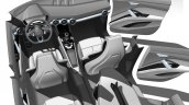Audi compact SUV concept Beijing sketch interior