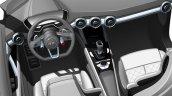Audi compact SUV concept Beijing sketch steering