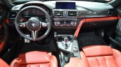 BMW M4 Convertible at 2014 New York Auto Show - dashboard
