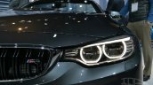 BMW M4 Convertible at 2014 New York Auto Show - headlamp detail