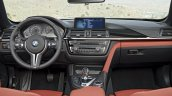 BMW M4 Convertible dashboard press shot
