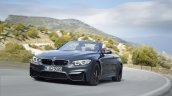 BMW M4 Convertible front three quarter press shot