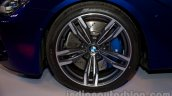 BMW M6 Gran Coupe alloy wheel from Indian launch