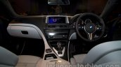 BMW M6 Gran Coupe dashboard from Indian launch