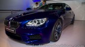 BMW M6 Gran Coupe front three quarters from Indian launch