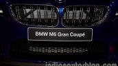 BMW M6 Gran Coupe grille from Indian launch