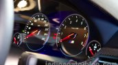 BMW M6 Gran Coupe instrument cluster from Indian launch