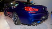 BMW M6 Gran Coupe rear three quarters from Indian launch