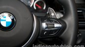 BMW M6 Gran Coupe steering controls right from Indian launch