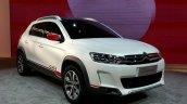 Citroen C-XR Concept front three quarters at Auto China 2014