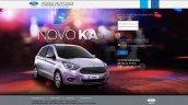 Ford Ka microsite