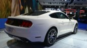 Ford Mustang 50 year limited edition rear three quarters at the 2014 New York Auto Show