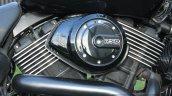 Harley Davidson Street 750 V-Twin engine detail