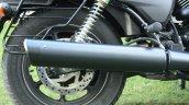 Harley Davidson Street 750 exhaust