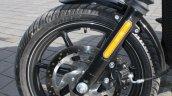 Harley Davidson Street 750 front wheel detail