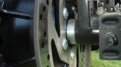 Harley Davidson Street 750 rear disc brake