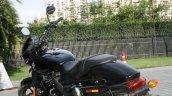 Harley Davidson Street 750 rear three quarter profile