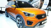 Hyundai ix25 front three quarters at Auto China 2014