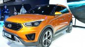 Hyundai ix25 front three quarters right at Auto China 2014