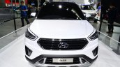 Hyundai ix25 white front at Auto China 2014