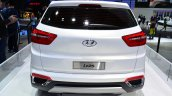 Hyundai ix25 white rear fascia at Auto China 2014