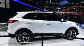 Hyundai ix25 white side at Auto China 2014