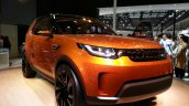 Land Rover Discovery Vision Concept front three quarters left at Auto China 2014