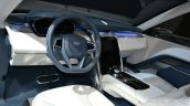 Land Rover Discovery Vision concept at 2014 NY auto show dashboard