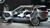 Land Rover Discovery Vision concept at 2014 NY auto show doors open
