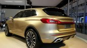Lincoln MKX Concept rear three quarters at Auto China 2014