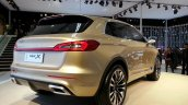 Lincoln MKX Concept rear three quarters right at Auto China 2014