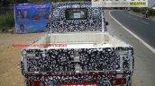Mahindra P601 cargo bay spyshot