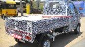 Mahindra P601 rear three quarter spyshot