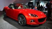Mazda MX-5 25th Anniversary Edition 2014 NY Auto Show front quarter