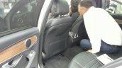 Mercedes C-Class long wheelbase rear seat at Auto China 2014