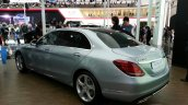 Mercedes C-Class long wheelbase rear three quarters left at Auto China 2014