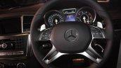 Mercedes GL63 AMG steering wheel