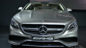 Mercedes S63 AMG Coupe at 2014 NY Auto Show front