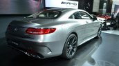 Mercedes S63 AMG Coupe at 2014 NY Auto Show rear quarter