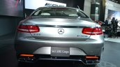 Mercedes S63 AMG Coupe at 2014 NY Auto Show rear