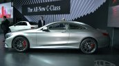 Mercedes S63 AMG Coupe at 2014 NY Auto Show side