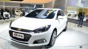 New Chevrolet Cruze front three quarters at Auto China 2014