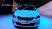 Peugeot 408 sedan front at Auto China 2014