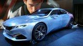 Peugeot Exalt front three quarters at Auto China 2014