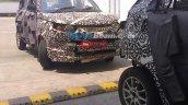 Spied Chennai Mahindra S101 front