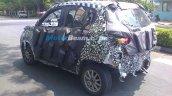 Spied Chennai Mahindra S101 rear quarter