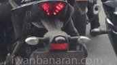 Spied Yamaha R25 rear