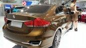 Suzuki Alivio rear three quarters right at Auto China 2014