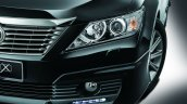 Toyota Camry G X Malaysia press shot headlight